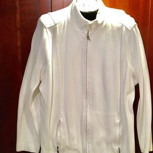 Coldwater Creek white Cotton Jacket